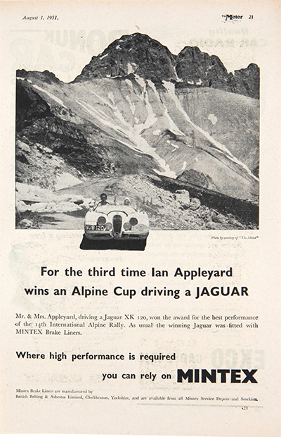 Alpine Cup Jaguar