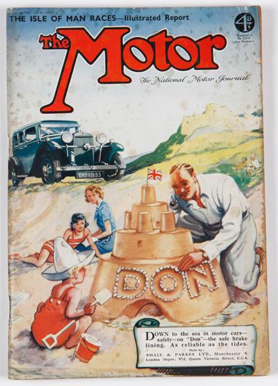 The Motor Advert